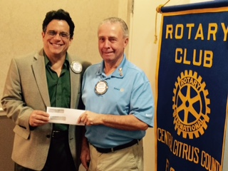 Rotary Club Donations to Charities - Rotary Club of Central